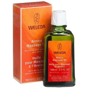 Arnica massageolie 200 ml.