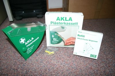 Pleisterautomaat Akla