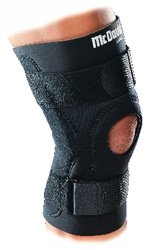 Hinged knee brace